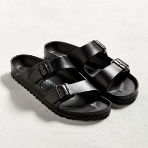 Birkenstock | Black Arizona EVA Sandals